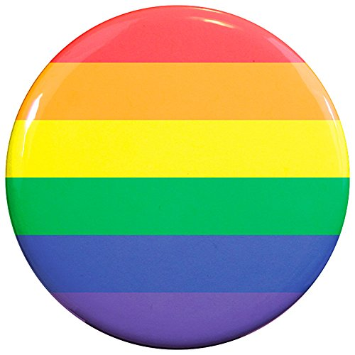 Henry the Buttonsmith Rainbow Pride 2.25 - Pride Rainbow Button Shopping Results