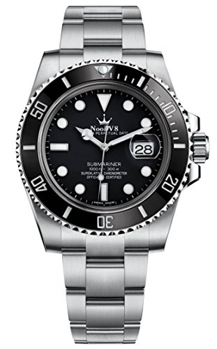 Sub Mariner Date Watch (High End Swiss REP V8 Crown Sub Date ETA 2836 Automatic Watch Sapphire 316L Stainless Steel Black Dail Ceramic Bezel 116610LN)