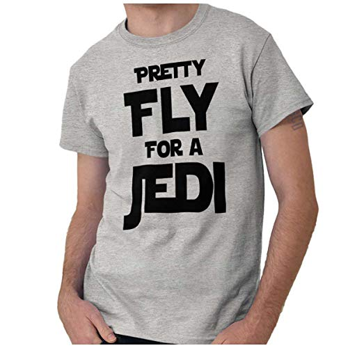 Pretty Fly for A Space Fighter Classic Nerd T Shirt Tee Sport Grey