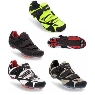 Giro 2012 Mens Code Mountain Bike Shoes (Black - 45)