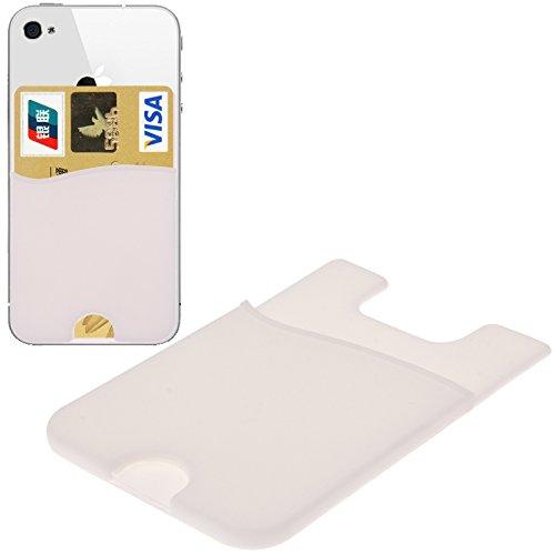 Original THESMARTGUARD Kartenslot zum aufkleben für Geldkarten / Kreditkarten - weiß -