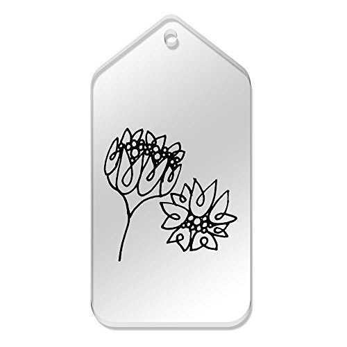 99 di tag X 51tg00040892 Large Azeeda 10 Mm 'Lindas Flowers' Chiari myN8vOn0w