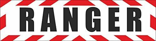 Indigos Ug Magnetschild Ranger Egb Usa Amerika Army Spezialkräfte Einsatz Infantrie Kampftrupp Mit Rahmen 30 X 8 Cm Magnetfolie Für Auto Lkw Truck Baustelle Firma Auto