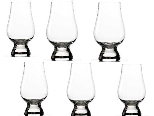 Stölzle_Lausitz 355 00 31 Glencairn Glas 2 plus 4 cl geeicht, 6-er Set