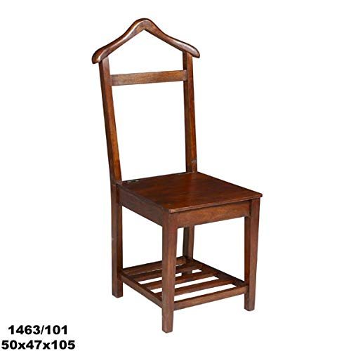 Muebles Olivares Silla galán Madera Color Nogal: Amazon.es ...