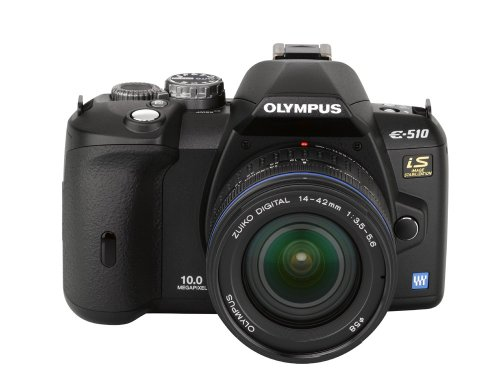 amazoncom olympus evolt e510 10mp digital slr camera with ccd shift image stabilization and 14 42mm f35 56 and 40 150mm f40 56 zuiko lenses dslr - Olympus Digital Camera
