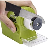 Shreehari Shopper® Electronic Cordless Knife Sharpener | for Knife, Scissor, Screwdriver, Hand Tools (Battery Operated, Multi-Functional)