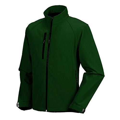 Résistante Bouteille Colours Jerzees Vert Homme À vent L'eau Veste Russell Coupe TaROqTZ