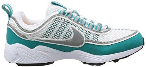 Zapatillas Nike Air Zoom Sprdn Para Hombre 849776 Blanco, Plata-turbo Verde