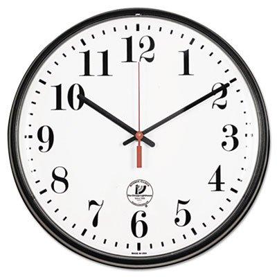 Atomic Slimline Contemporary Clock, 12-3/4