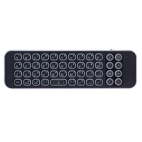 Updated 2018 Version with Infrared Learning Universal Remote Control, iPazzPort Mini Bluetooth Keyboard with Backlit for Smart TV, Android Tv Box by iPazzPort (Image #7)'