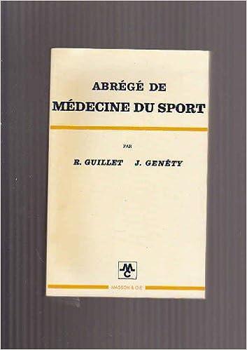 Lire Abrégé de médecine du sport pdf