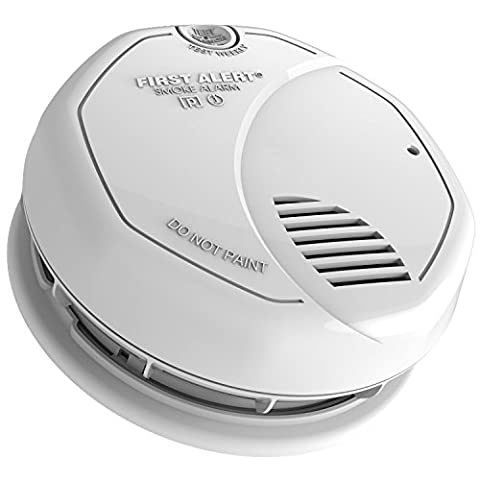 First Alert SA3210 Dual Sensor Smoke and Fire Alarm with 10-Year Sealed Battery - Photoelectric Ionization Smoke Detectors