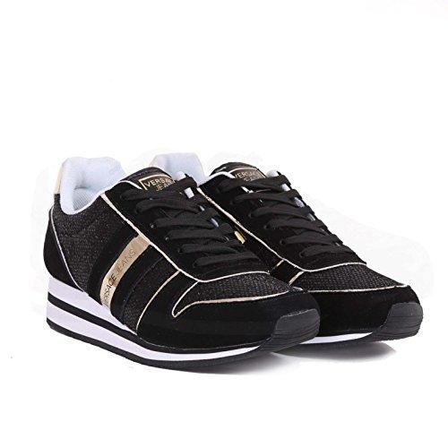 Versace Jeans Sneaker Donna DisA1 Glitter Mesh E0VPBSA1899, Basket - 36 EU