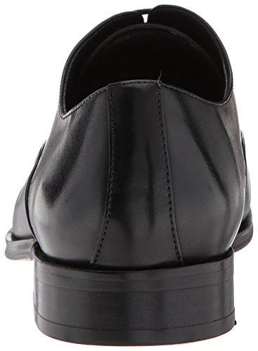 Steve Madden Mens Vear Oxford Svart Läder