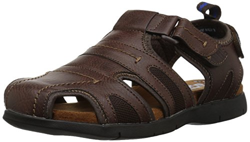 - Nunn Bush Men's Rio Grande Closed Toe Fisherman Sandal, tan, 11 Medium US