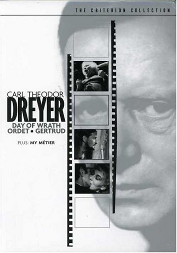 Carl Theodor Dreyer Set (Day of Wrath / Ordet / Gertrud / My Metier) (The Criterion Collection) by DREYER,CARL THEODOR
