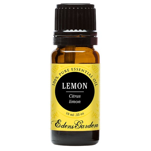 Lemon Essential Oil (100% Pure, Undiluted Therapeutic/ Best Grade) Premium Aromatherapy Oils by Edens Garden- 10 ml (Shaving Lemon Essential Oil)