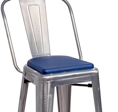 Kitchen Chairs Only: Cushion Rounded Chair Pads Seat For Metal Bar Stools