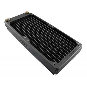 XSPC EX240 Enfriador - Ventilador de PC (Enfriador, Negro, 121 mm, 35,5 mm, 275 mm, 507 g)