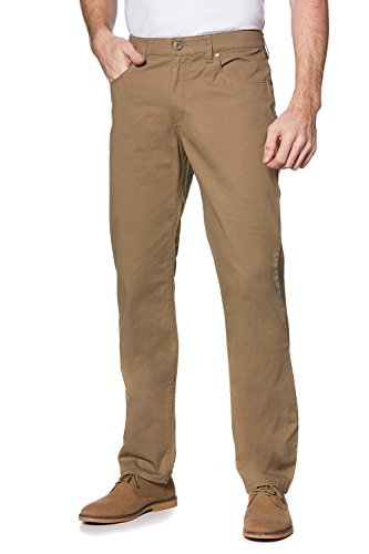 JP 1880 Homme Grandes tailles Stretch Chino Coupe droite Fit Twill beige beige 54 687811 22-54