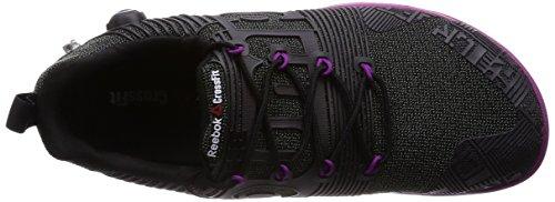Reebok R Crossfit Nano Pum - Zapatillas de deporte Unisex adulto Negro / Morado