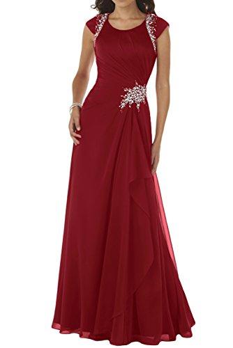 TOSKANA BRAUT - Vestido - trapecio - para mujer Rojo