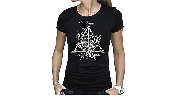 Reliquias de la Muerte Mujer Negro ABYstyle Harry Potter T-Shirt