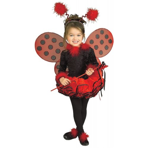 Deluxe Lady Bug Costume - Small (Ladybug Tutu Costume)