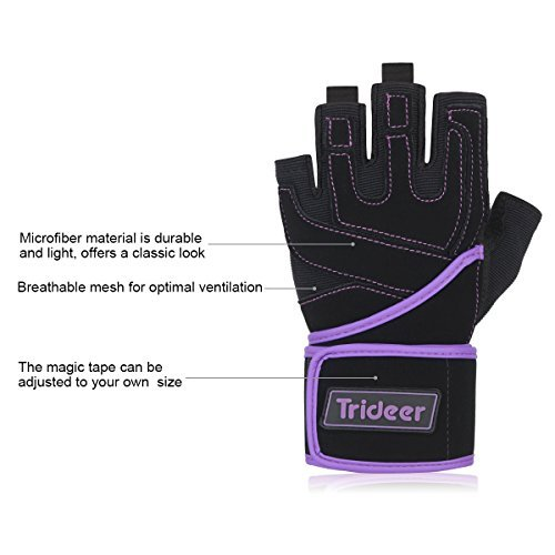 Trideer-Padded-Anti-Slip-Weight-Lifting-Gloves-with-18-Wrist-Wraps-Pro-Gym-Gloves-Support-for-Weightlifting-Cross-Training-Gym-Workout-Fitness-Bodybuilding