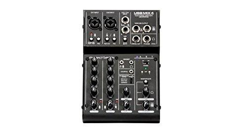 ART USBMix4 4-Channel Mixer & USB Interface by ART
