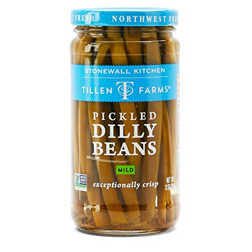 - Tillen Farms Beans Pickled Crispy Dilly, 12 Ounce
