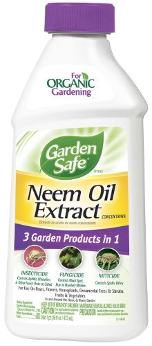 Garden Safe 93179 16-Ounce Neem Oil Case Pack of 1