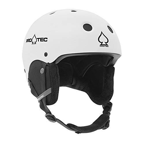 ProTec Classic Certified Snow Helmet - Matte White - XL