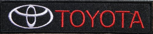 TOYOTA Logo Sign Sport Pickup Truck Car Racing Patch Iron on Applique (Logo Wash Bag)