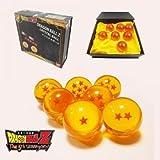 Acrylic Dragonball Z Stars Crystal Ball Set of 7pcs with Gift Box (35mm)