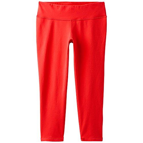 prAna Ashley Capri Leggings, Fiery Red, (Capri Low Rise Jersey)