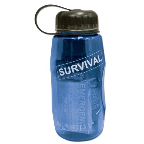Lifeline Water Bottles (Lifeline Survival in a Bottle Kit, 26-Ounce)