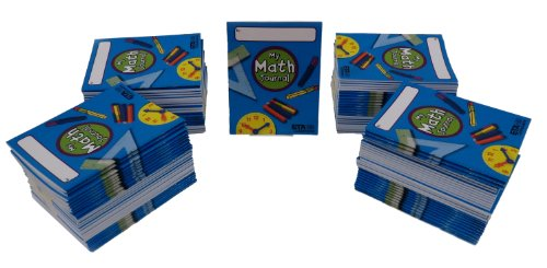 Journal Math Set (ETA hand2mind My Math Journal, Set of 100)