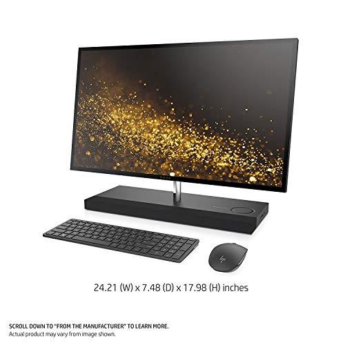 HP Envy 27 Touch Desktop 256GB SSD + 2TB HD 32GB RAM UHD 4K (Intel Core i7-8700T Processor Turbo 4.00GHz, 32 GB RAM, 256 GB SSD + 2 TB HD, 27