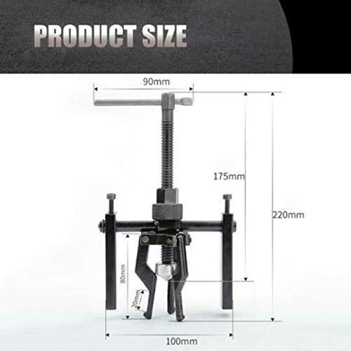 Three Jaw Type Puller Strong Pull Force Tool for Remove All Sleeve-Type Bearings WoVoW Bearing Puller Set
