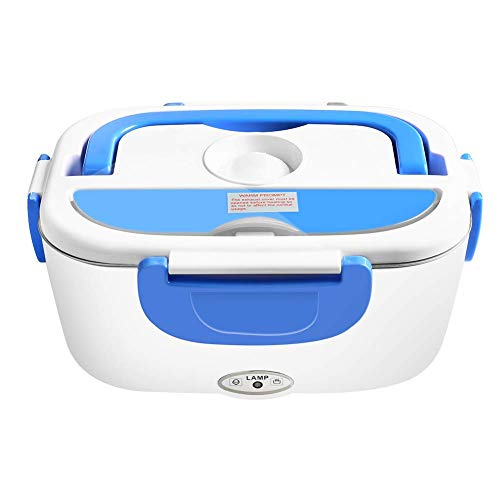 Electric Heater Lunch Box, Portable Meal Heating with Removable Stainless Steel Container, Food Warmer Boxes for Home Office Use 110V