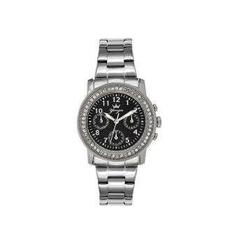 YONGER POUR ELLE Uhren YONGER POUR ELLE Damen DMC 1632-01 Strass - Chronograph