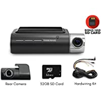Thinkware F800 Exclusive 2-Channel Bundle 1080P FHD WiFi Rearview Camera 16GB, 32GB SD Card and Hardwiring Kit Included
