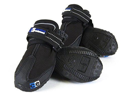 Canine Equipment Ultimate Trail Dog Boots, Medium, Black - Nylon Dog Booties