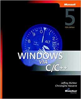 Windows via C/C++ (softcover) (Developer Reference)