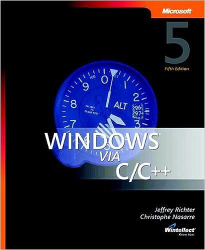 Amazon com: Windows via C/C++ (softcover) (Developer