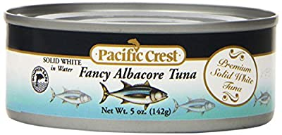 Pacific Crest Solid White Albacore Tuna, 5-Ounce Can (Pack of 48)