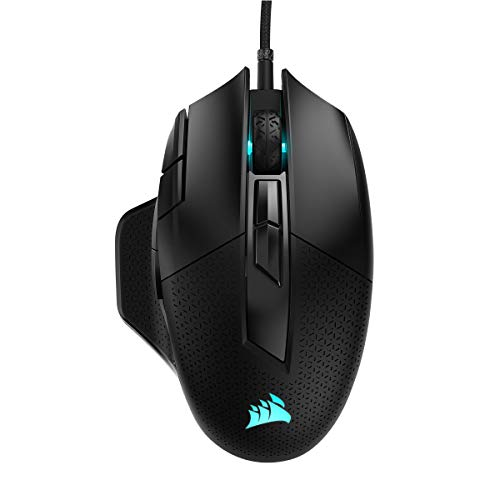 Corsair NIGHTSWORD RGB Wired Optical Mouse