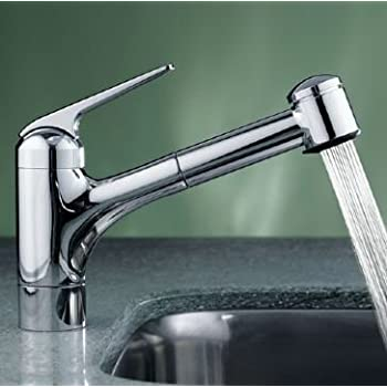 KWC Faucets 10.061.004.127 DOMO Pull Down Kitchen Faucet ...